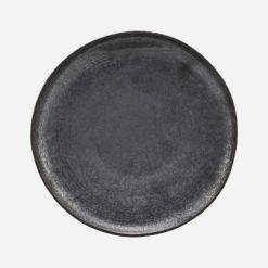 House Doctor Frokosttallerken, Pion, Sort/Brun - Ø 21,5 cm