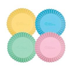 Muffinsforme Pastel Silikone, 12 stk.