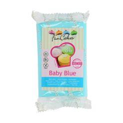Fondant Baby Blå 250g – FunCakes