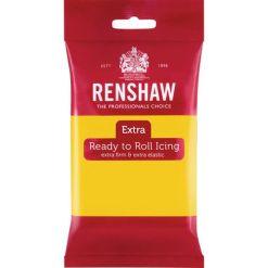 Renshaw Fondant Extra, Gul – 250g