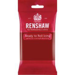 Fondant Rubinrød, 250 g - Renshaw