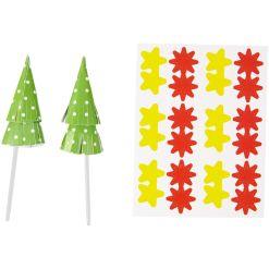 Fun Pix Juletræ, 12 stk. - Wilton
