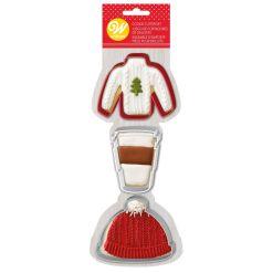 Udstikker Sæt, Sweater/Hat/Latte - Wilton