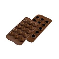 Silikone Chokoladeform Choco Flame - Silikomart