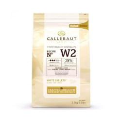 Callebaut Chokolade hvid 2,5 kg - (28%)