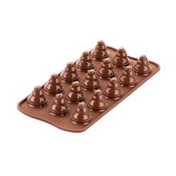 Chokolade træer silikoneform - Silikomart