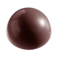 Chokoladeform halvkugle Ø 80 mm CW2254 - Chocolate World