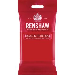 Fondant, Poppy Red, 250 g - Renshaw