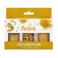 Krymmelsæt Guld - Decora