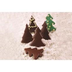 Silikone Chokoladeform Choco Pine - Silikomart