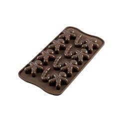 Silikone Chokoladeform Mr. Ginger - Silikomart