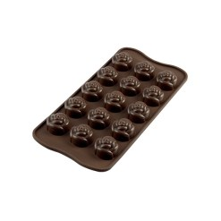 Silikone Chokoladeform Roser - Silikomart