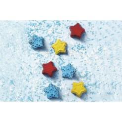 Silikone Chokoladeform Winter Stars - Silikomart