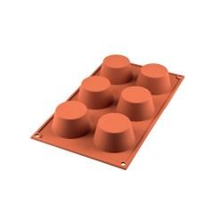 Silikoneform Muffins Ø 6,9 cm. - Silikomart