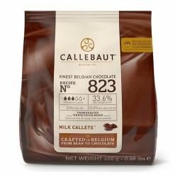 Callebaut Chokolade lys 400g - (33,6%)