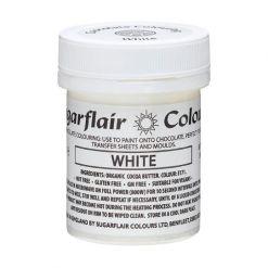 Chokoladefarve Hvid 35g - Sugarflair