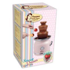 Chokoladefontæne Pink 90W – Bestron Sweet Dreams