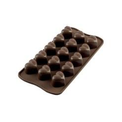 Silikone Chokoladeform Hjerte - Silikomart