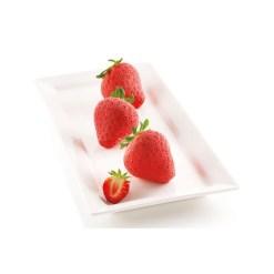 Silikoneform Jordbær 3D - Silikomart