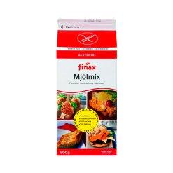 Glutenfri Mel mix basis 900g - Finax