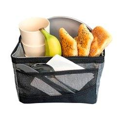 Sistema Køletaske - Maxi Fold Lunch Bag - Rød, Grøn, Blå og Sort