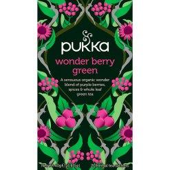 Pukka Te Grøn Te Wonder Berry Green Økologisk - 20 breve