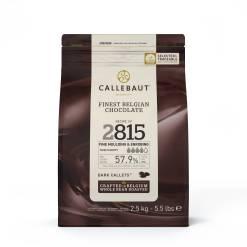 Callebaut Chokolade mørk 2,5 kg - (57,2%)