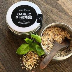 Garlic & Herbs, Hvidløgspeber - Spice by Spice