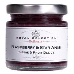 Hindbær & stjerneanis marmelade 130g - Belberry