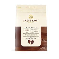 Lys Chokolade til Is overtræk 2,5 kg - Callebaut