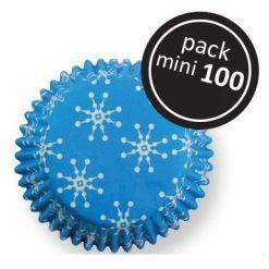 Snefnug Mini muffinsforme i papir 100 stk., PME