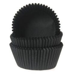 Mini muffinsforme sort 60 stk. - House of Marie