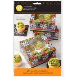 Kageboks til 6 Cupcakes, Halloween – 3 stk., Wilton