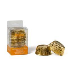 Muffinsforme i guld Ø5cm, 60 stk. - Decora