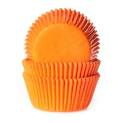 Orange muffinsforme 50 stk. - House of Marie