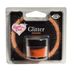 Spiseligt Glimmer Orange, 5 g - Rainbow Dust
