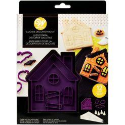 Halloween Hjemsøgt hus udstikkersæt 7 dele - Wilton