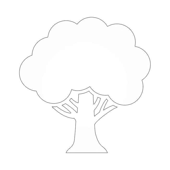 Ağaç şablonları Projedenizi