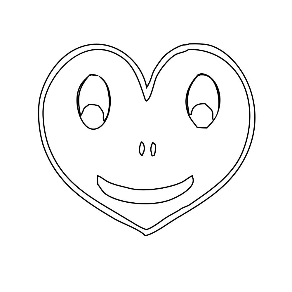 şekiller Kalp şablonları Projedenizi