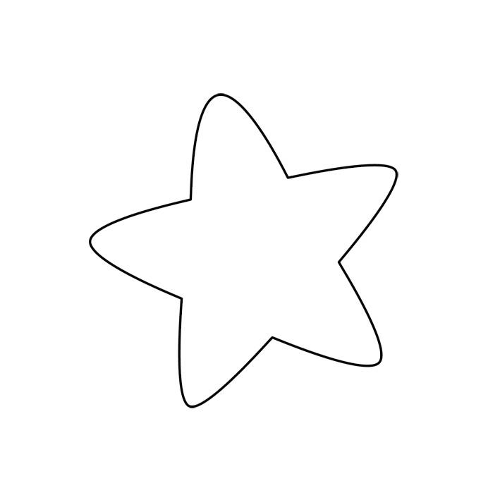 Yıldız Boyama Sayfaları Bahattinteymuriom