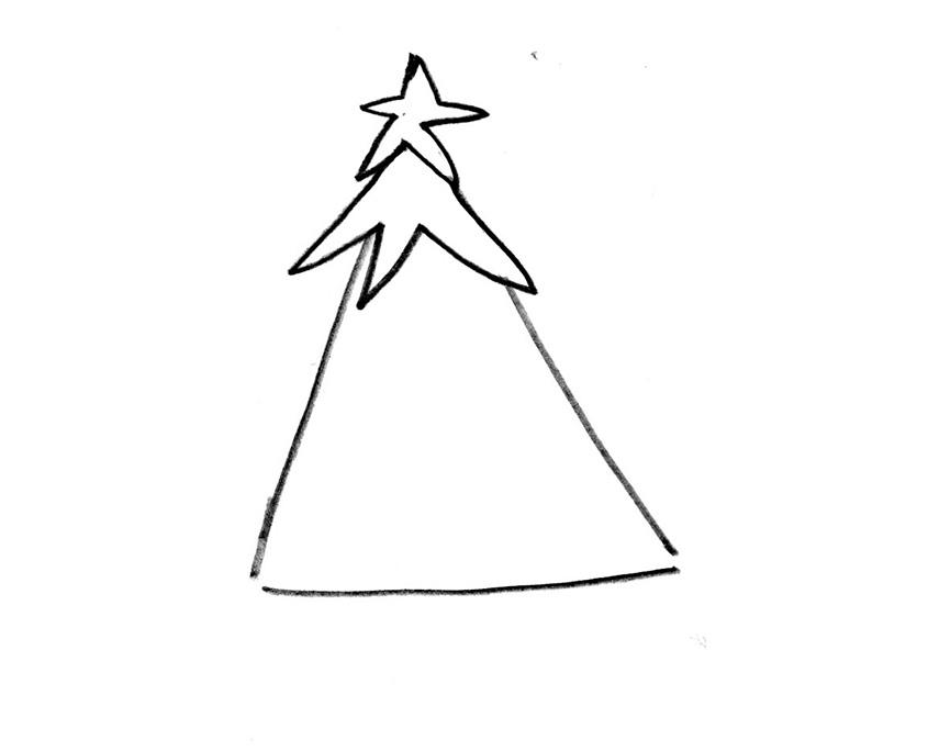 Yeni Yıl çizimleri Bunları çizmek çok Kolay Projedenizi