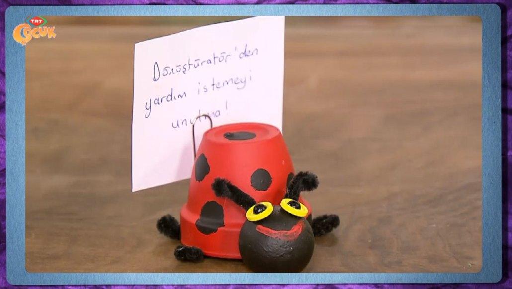 Uğur Böceği Sürpriz Kutusu Trt çocuk Projedenizi