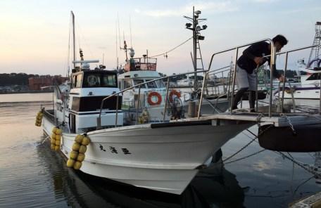 遊漁船 亜海丸 (あみまる)さんでタイラバ(鯛ラバ)