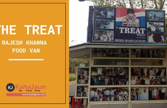 The Treat, Rajesh Khanna Food Van, Chankyapuri