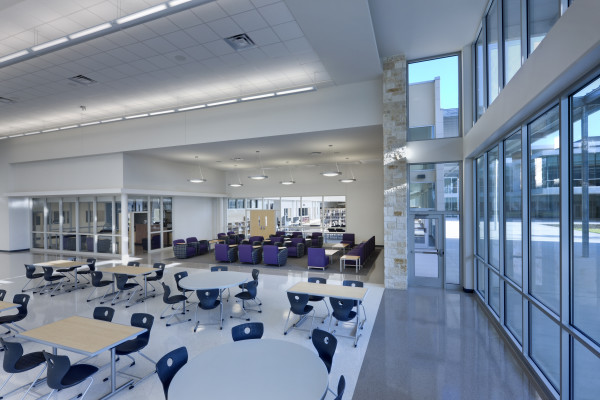 Cedar Ridge High School Kah Architecture And Interior