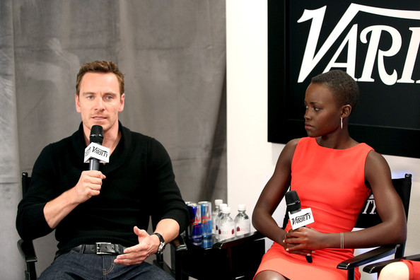 Fassbender and Lupita
