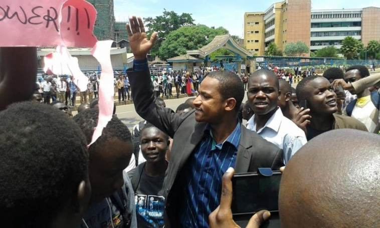 """Image result for Babu Owino with university students"""""""