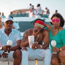 Diamond Platnumz Yacht Party