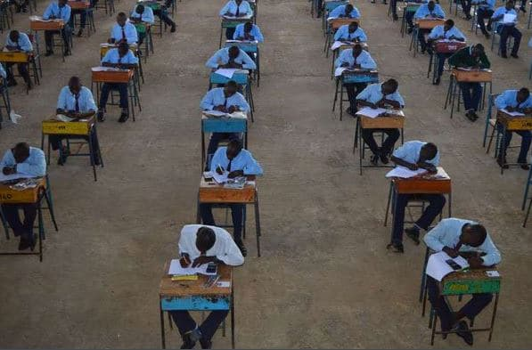 kcse candidate collapses