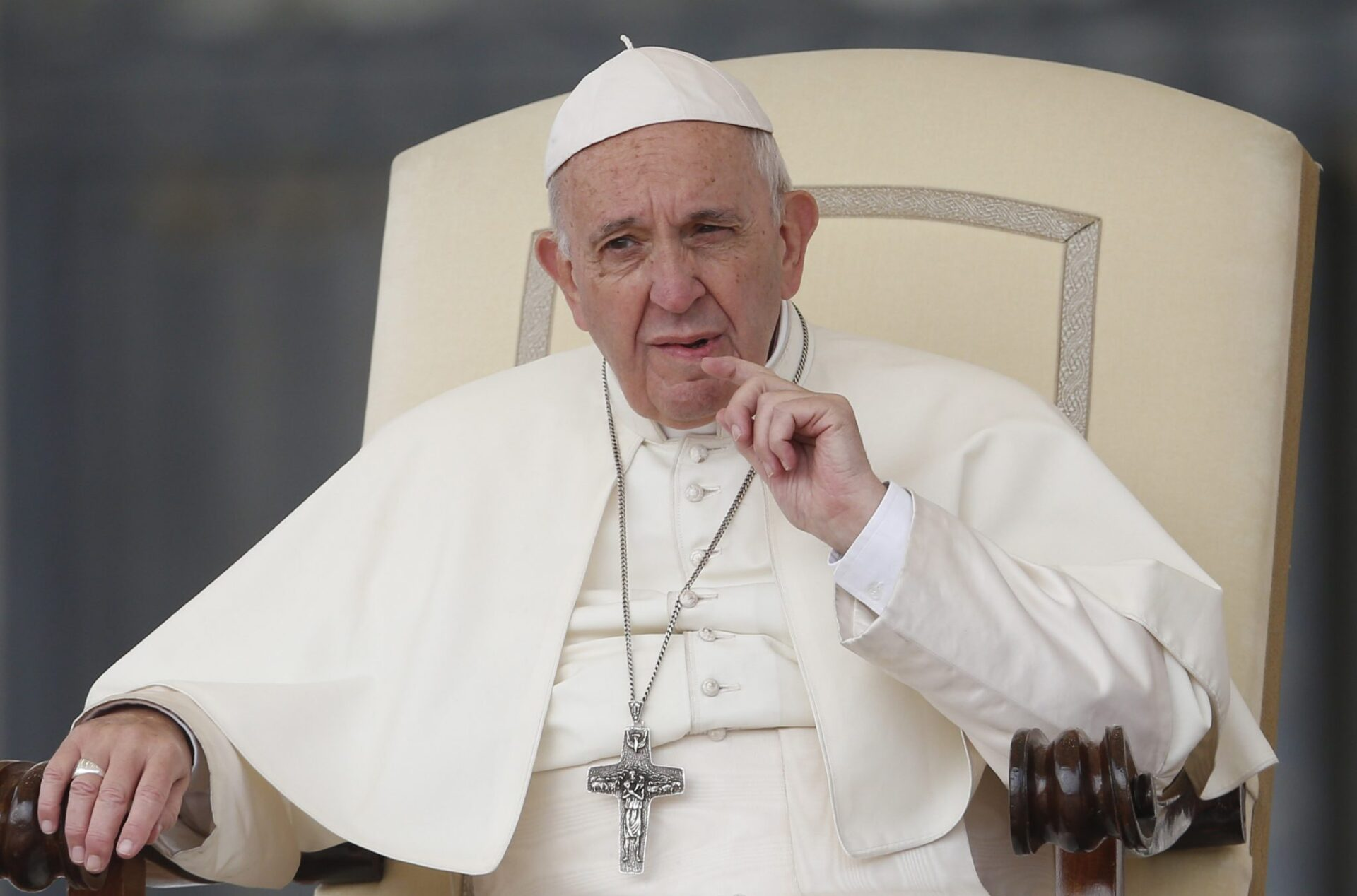 Pope labels critics of the Catholic Church 'friends of the devil'